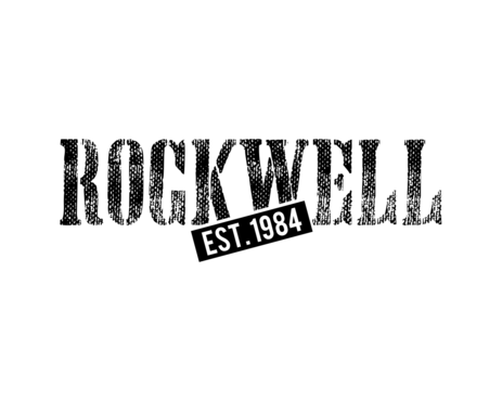 the words Rockwell, Chicago and est. 1984 Other  Draft # 18 by simpleway