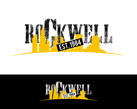 the words Rockwell, Chicago and est. 1984 Other  Draft # 19 by simpleway
