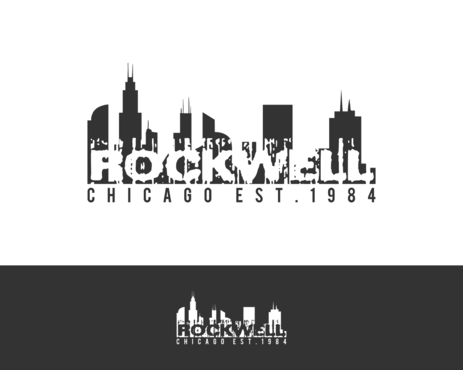 the words Rockwell, Chicago and est. 1984 Other  Draft # 20 by simpleway