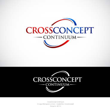 CrossConcept Continuum A Logo, Monogram, or Icon  Draft # 14 by 067745