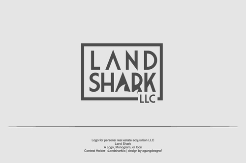 Land Shark A Logo, Monogram, or Icon  Draft # 8 by agungdesgraf