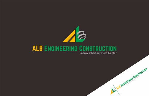 ALB Engineering Construction  A Logo, Monogram, or Icon  Draft # 8 by SYAIF87