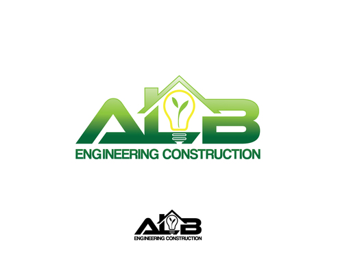 ALB Engineering Construction  A Logo, Monogram, or Icon  Draft # 19 by A78design