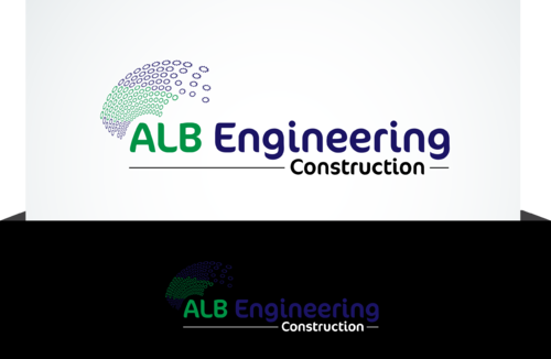 ALB Engineering Construction  A Logo, Monogram, or Icon  Draft # 23 by jonsmth620