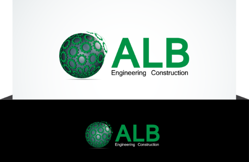 ALB Engineering Construction  A Logo, Monogram, or Icon  Draft # 54 by jonsmth620