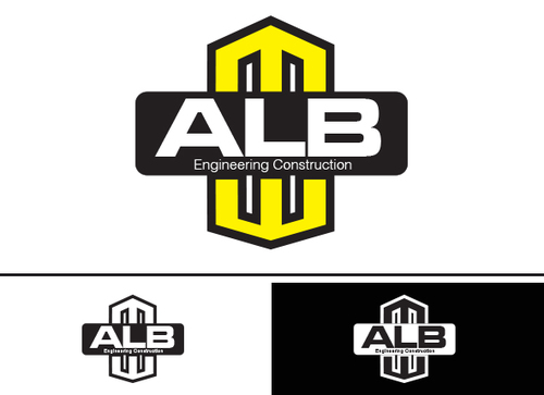 ALB Engineering Construction  A Logo, Monogram, or Icon  Draft # 56 by yoceramika