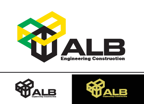 ALB Engineering Construction  A Logo, Monogram, or Icon  Draft # 57 by yoceramika