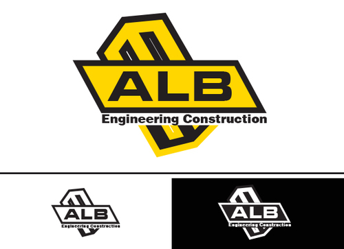 ALB Engineering Construction  A Logo, Monogram, or Icon  Draft # 58 by yoceramika