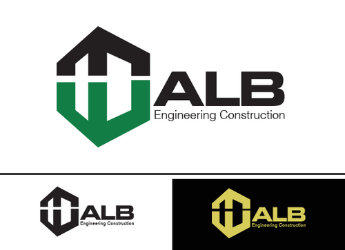 ALB Engineering Construction  A Logo, Monogram, or Icon  Draft # 59 by yoceramika