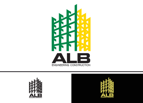 ALB Engineering Construction  A Logo, Monogram, or Icon  Draft # 61 by yoceramika