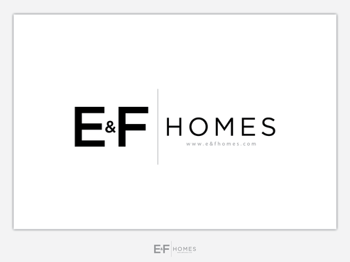 E&F Homes (Limited) A Logo, Monogram, or Icon  Draft # 154 by Chlong2x