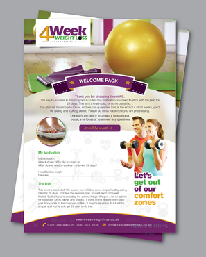 4 Week Weight Loss - Personal training and healthy eating menus Other  Draft # 6 by Achiver