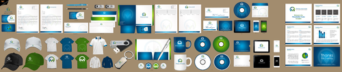 Virtual Manager, LLC. Business Cards and Stationery Winning Design by einsanimation