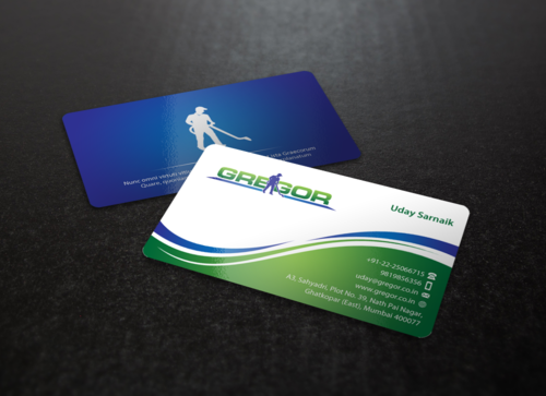 Gregor Business Cards and Stationery Winning Design by einsanimation