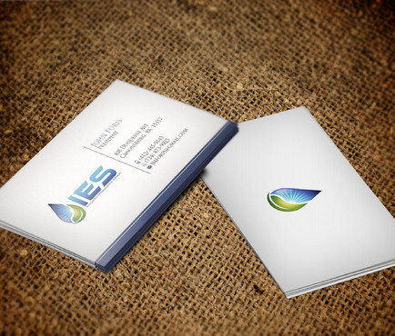 Use the provided Logo.  The name of the company is Integrated Environmental Services or IES Business Cards and Stationery  Draft # 88 by skyscraper
