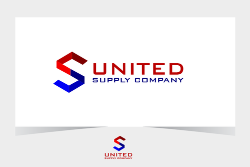 United Supply Company A Logo, Monogram, or Icon  Draft # 462 by BitDE3Dimensional