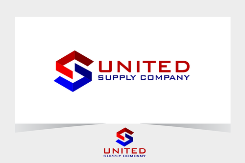 United Supply Company A Logo, Monogram, or Icon  Draft # 463 by BitDE3Dimensional