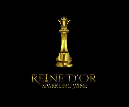 Reine D'Or Sparkling Wine A Logo, Monogram, or Icon  Draft # 20 by Designeye