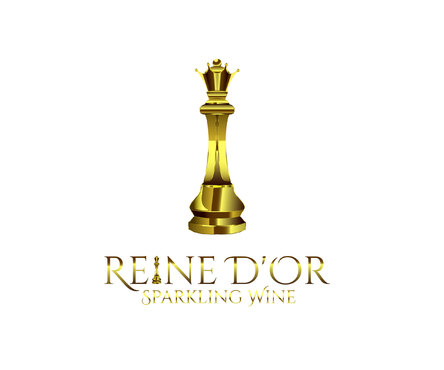 Reine D'Or Sparkling Wine A Logo, Monogram, or Icon  Draft # 30 by Designeye