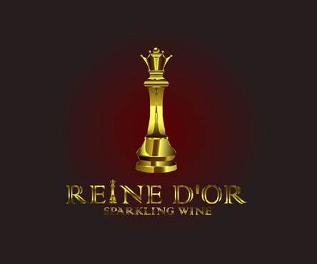Reine D'Or Sparkling Wine A Logo, Monogram, or Icon  Draft # 32 by Designeye