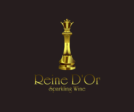 Reine D'Or Sparkling Wine A Logo, Monogram, or Icon  Draft # 34 by Designeye