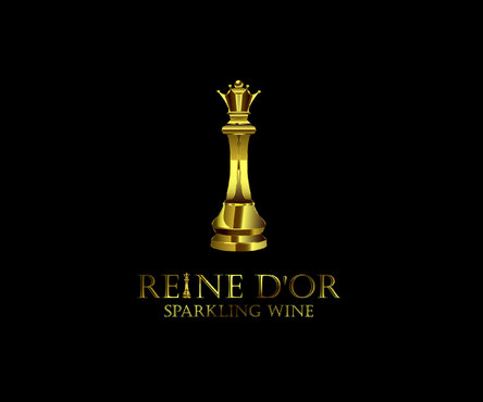 Reine D'Or Sparkling Wine A Logo, Monogram, or Icon  Draft # 37 by Designeye