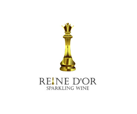 Reine D'Or Sparkling Wine A Logo, Monogram, or Icon  Draft # 38 by Designeye