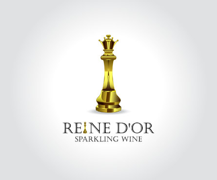 Reine D'Or Sparkling Wine A Logo, Monogram, or Icon  Draft # 41 by Designeye