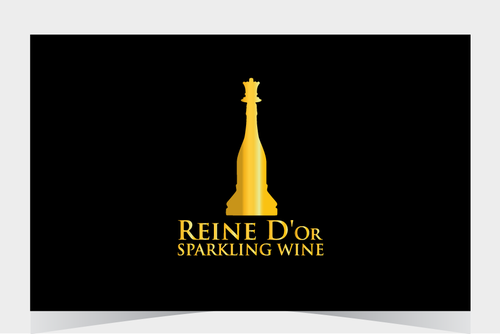 Reine D'Or Sparkling Wine A Logo, Monogram, or Icon  Draft # 49 by BitDE3Dimensional