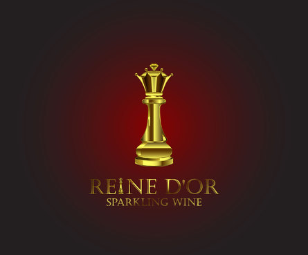 Reine D'Or Sparkling Wine A Logo, Monogram, or Icon  Draft # 55 by Designeye
