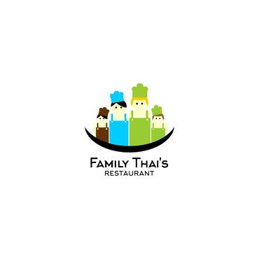 Family Thai's  Logo Winning Design by AgusRustandi