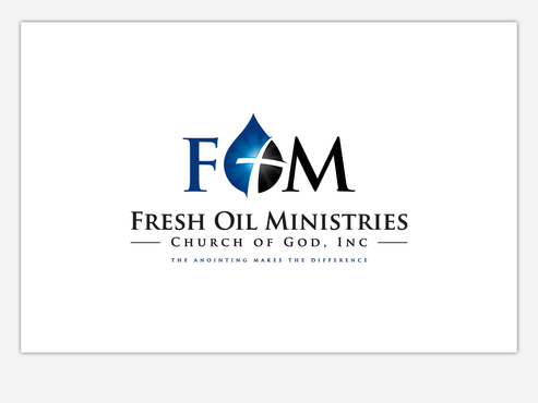 Fresh Oil Ministries Church of God, Inc. A Logo, Monogram, or Icon  Draft # 24 by Chlong2x