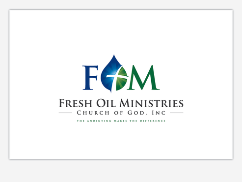 Fresh Oil Ministries Church of God, Inc. Logo Winning Design by Chlong2x