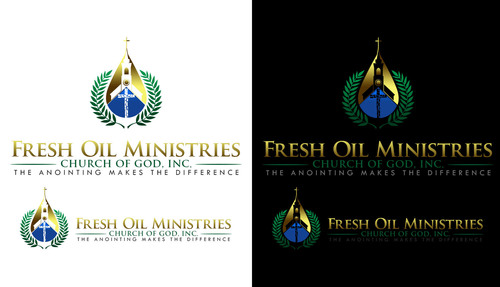 Fresh Oil Ministries Church of God, Inc. A Logo, Monogram, or Icon  Draft # 183 by LouisAndalcreative