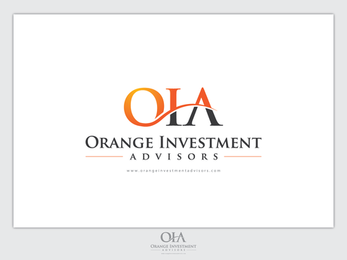Orange Investment Advisors A Logo, Monogram, or Icon  Draft # 948 by Chlong2x