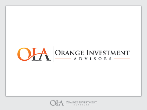Orange Investment Advisors A Logo, Monogram, or Icon  Draft # 949 by Chlong2x
