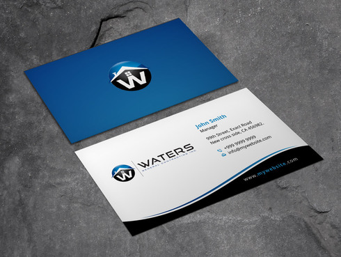 Waters General Contracting Inc. Business Cards and Stationery  Draft # 7 by Xpert