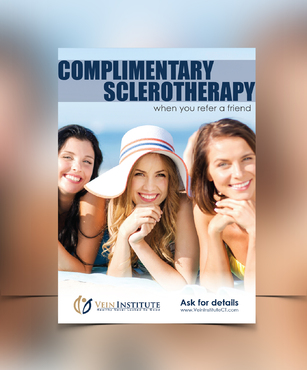 Refer a friend and receive a complimentary sclerotherapy session