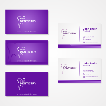 Now Dentistry Business Cards and Stationery  Draft # 1 by hubes