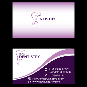 Now Dentistry Business Cards and Stationery  Draft # 3 by ignore