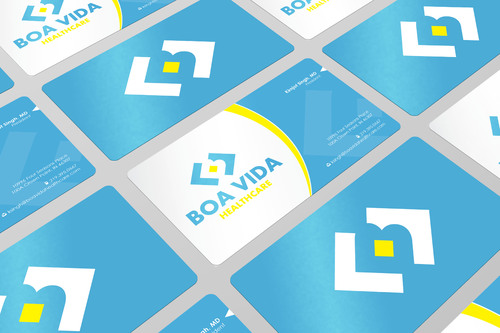 Boa Vida Healthcare Business Cards and Stationery  Draft # 137 by i3designer