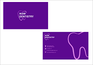Now Dentistry Business Cards and Stationery  Draft # 194 by fitriyanto