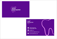 Now Dentistry Business Cards and Stationery  Draft # 195 by fitriyanto