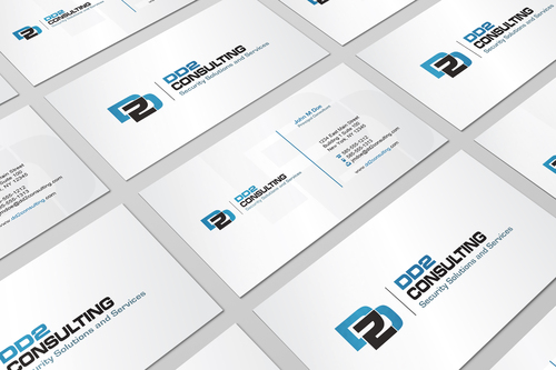 DD2 Consulting Business Cards and Stationery  Draft # 7 by i3designer