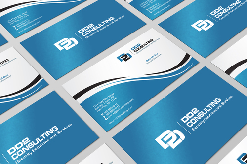 DD2 Consulting Business Cards and Stationery  Draft # 11 by i3designer