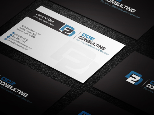 DD2 Consulting Business Cards and Stationery  Draft # 15 by upwork