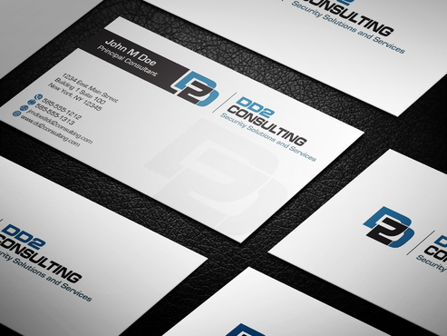 DD2 Consulting Business Cards and Stationery  Draft # 20 by upwork