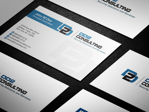 DD2 Consulting Business Cards and Stationery  Draft # 21 by upwork