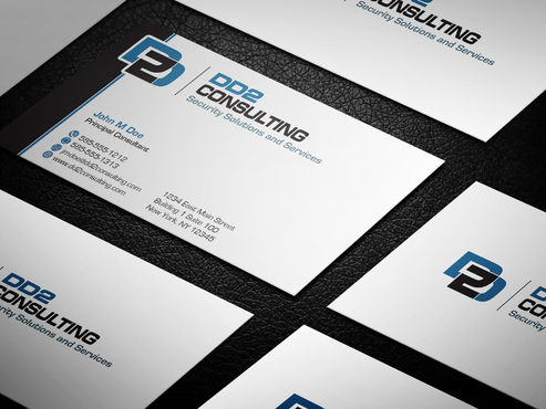 DD2 Consulting Business Cards and Stationery  Draft # 22 by upwork