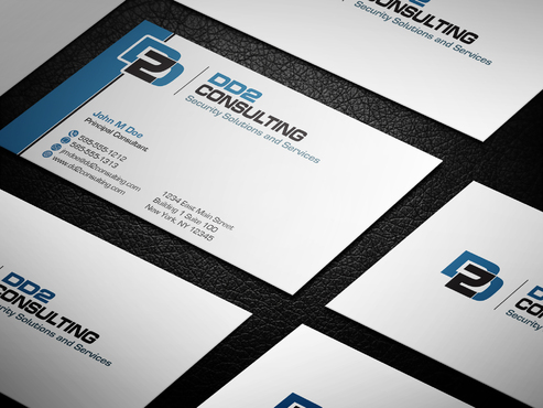 DD2 Consulting Business Cards and Stationery  Draft # 23 by upwork
